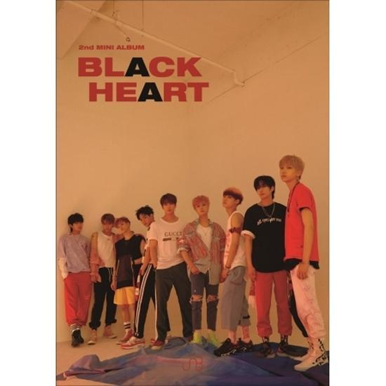 UNB | 유앤비 | 2nd Mini Album - Black Heart [BLACK ver]
