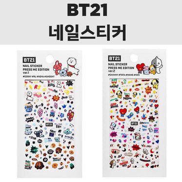 BT21 x OLIVE YOUNG Nail Sticker