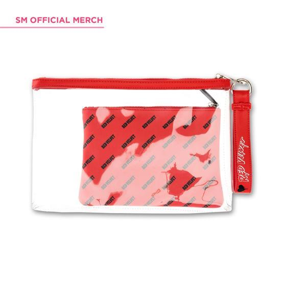 c10a4ab3 MUSIC PLAZA Goods Red Velvet | 레드벨벳 | Bad Boy Clutch with Make up Bag