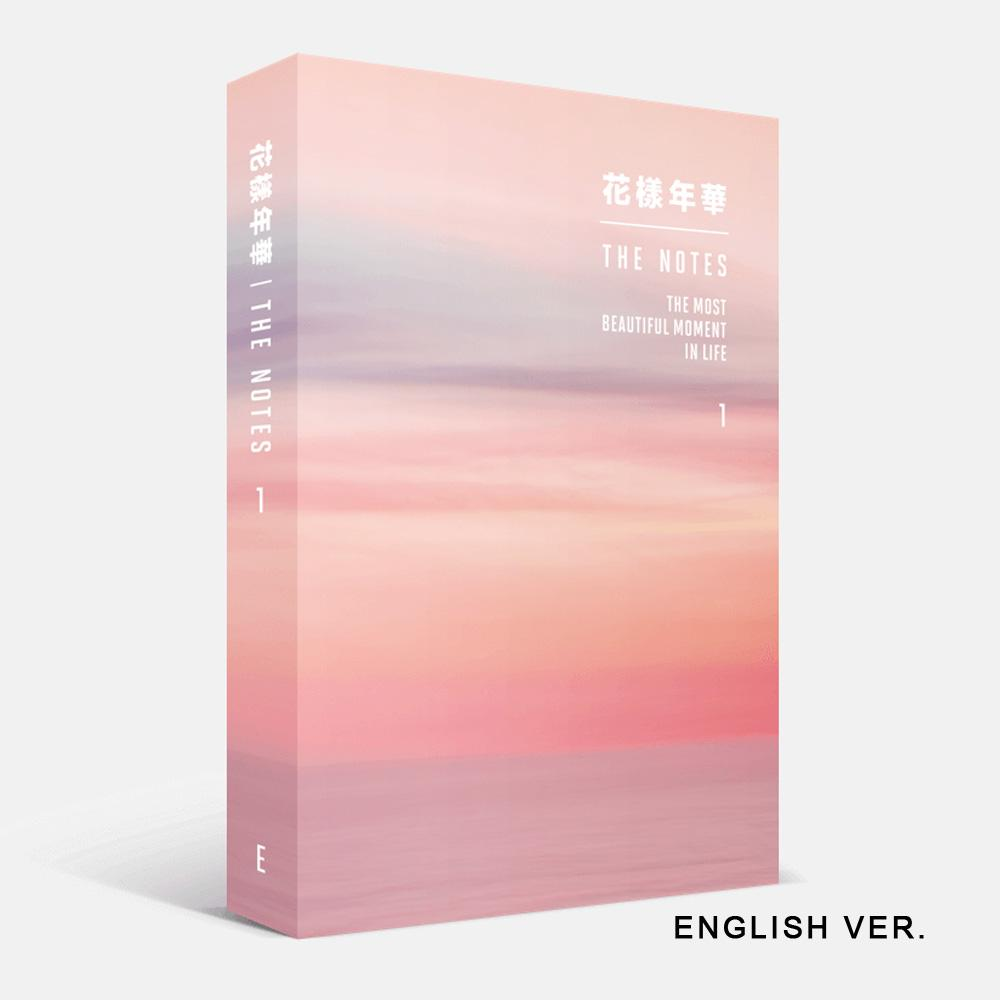 MUSIC PLAZA Photo Book BTS E VER. [ THE MOST BEAUTIFUL MOMENT IN LIFE ] THE NOTES 1+SPECIAL NOTEBOOK