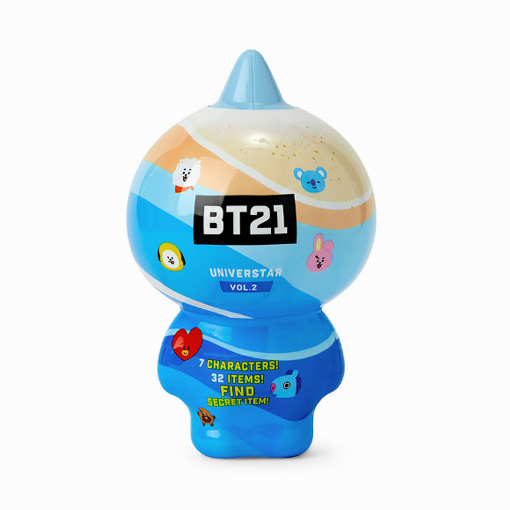 BT21 COLLECTABLE FIGURE BLIND PACK VOL.2 [ SUMMER VACATION THEME ]