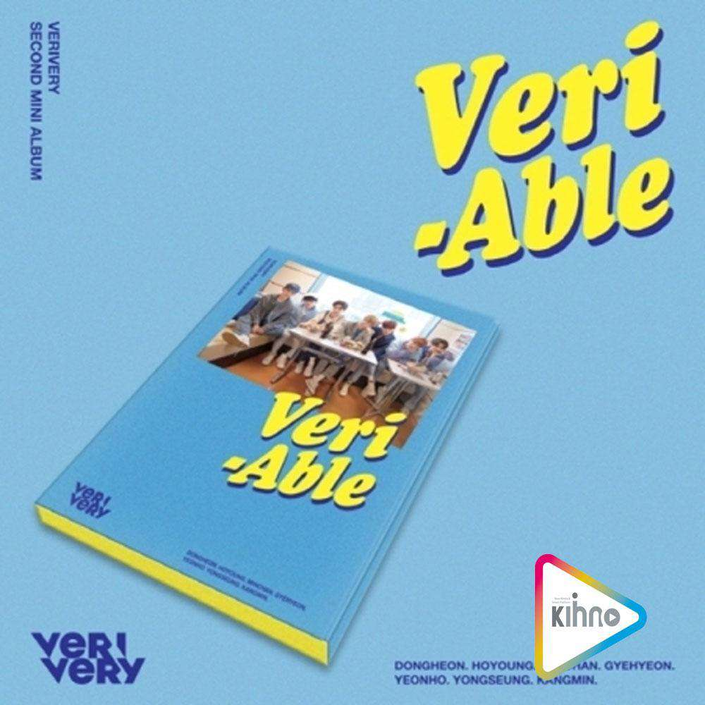 MUSIC PLAZA CD 베리베리 | VERIVERY 2ND MINI ALBUM [ VERI-ABLE ] KIHNO KIT | BUTTON STYLE