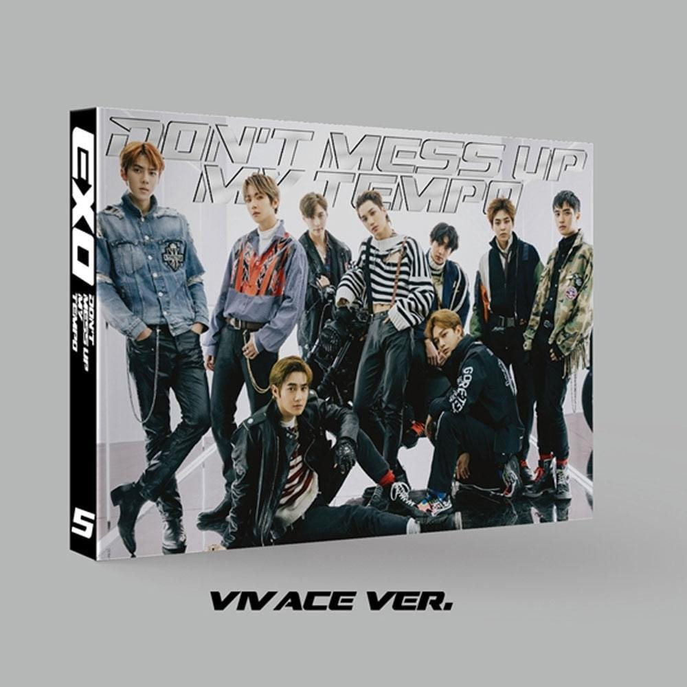 9d6f370e EXO 5TH ALBUM [ DON'T MESS UP MY TEMPO ] VIVACE VER. - Music Plaza