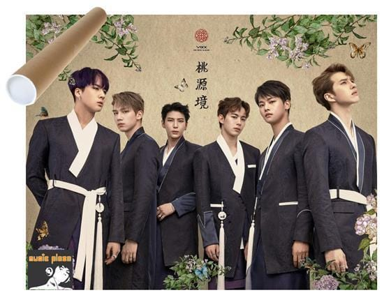 MUSIC PLAZA Poster VIXX | 빅스 | 도원경 THE PEACH BLOSSOM SPRING BIRTH FLOWER POSTER