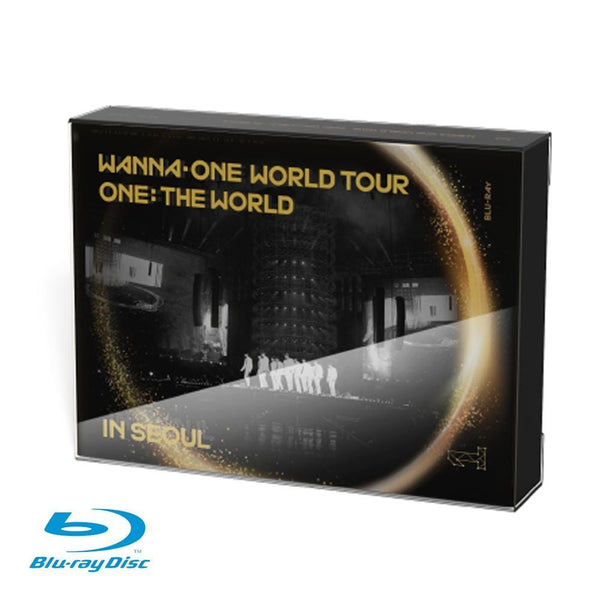 MUSIC PLAZA DVD WANNA ONE WORLD TOUR  ONE: THE WORLD IN SEOUL CONCERT  BLU-RAY