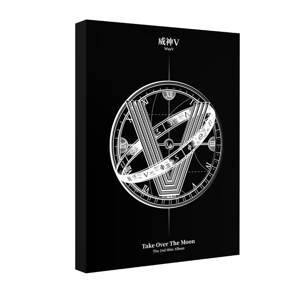 WayV [ TAKE OVER THE MOON ] POSTCARD BOOK