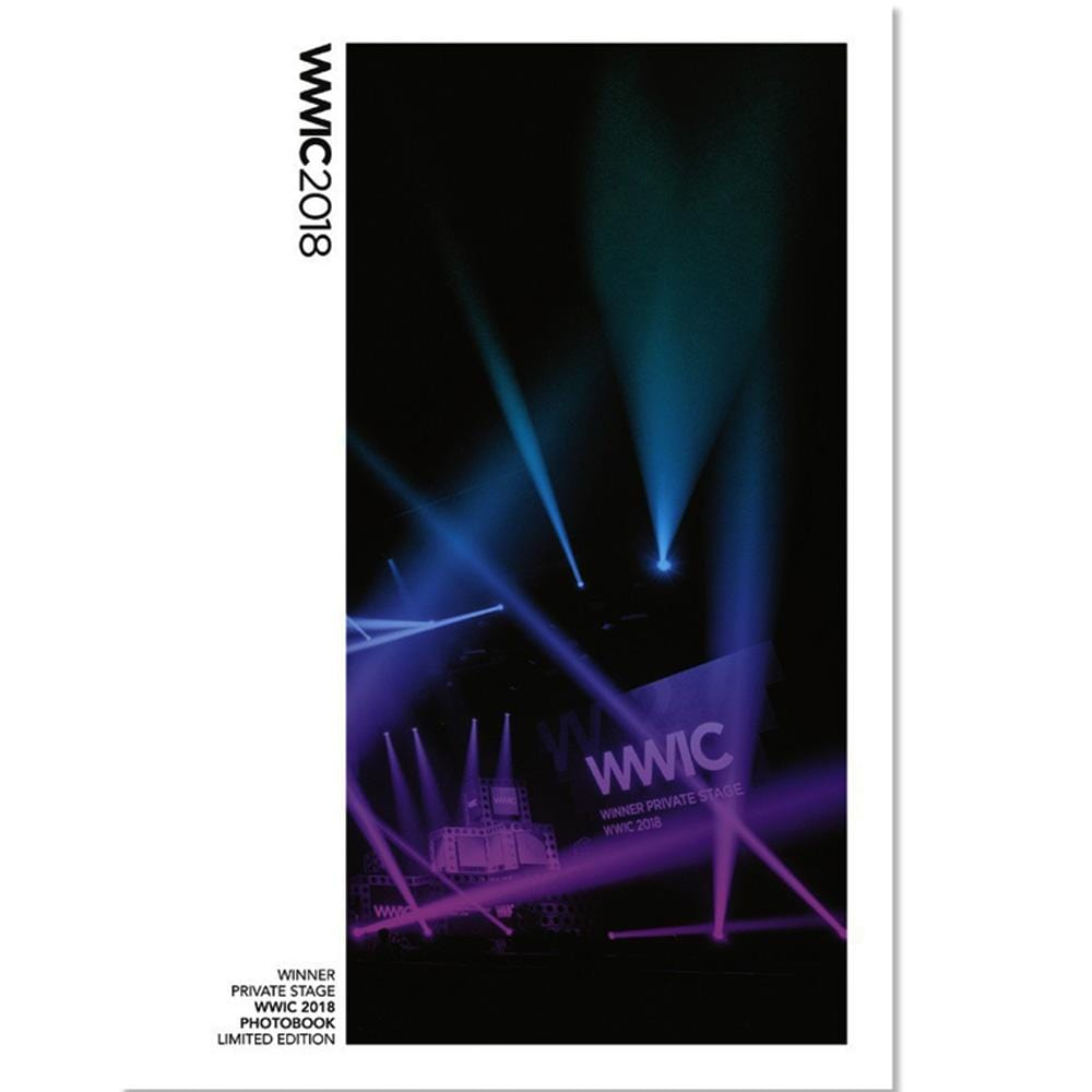 위너 | WINNER PRIVATE STAGE WWIC 2018 PHOTOBOOK -LIMITED EDITION-
