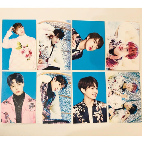 BTS THE WINGS TOUR CONCERT GOODS [ MINI PHOTO CARD SET ] VER.1