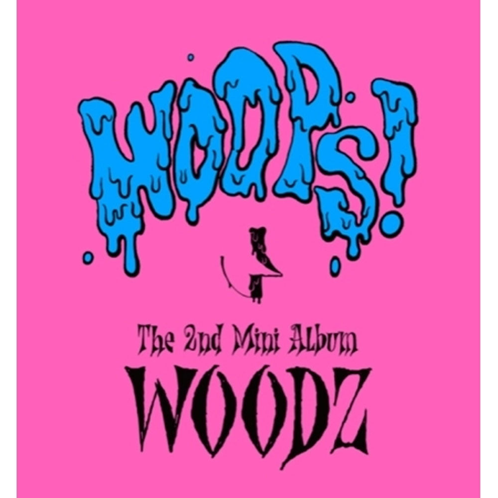 우즈  | WOODZ 조승연 2ND MINI ALBUM [ WOOPS! ] KIT ALBUM