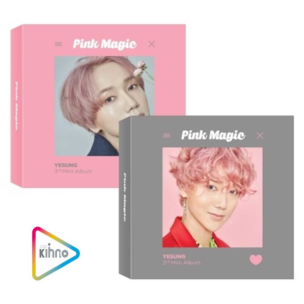 예성 | YESUNG 3RD MINI ALBUM [ PINK MAGIC ] KIHNO KIT
