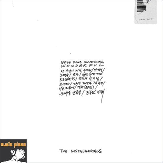 MUSIC PLAZA CD Epik High | 에픽하이 | 9th Album - The Instrumentals - We've Done Something Wonderful