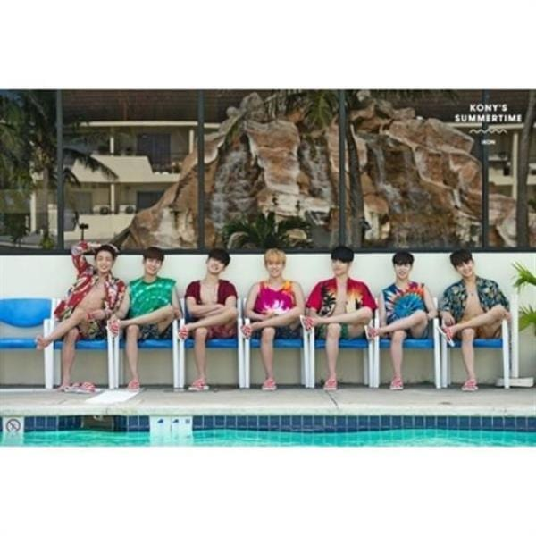 MUSIC PLAZA Goods <strong>아이콘 | iKON</strong><br/>PHOTOCARD COLLECTION<br/>KONY'S SUMMERTIME