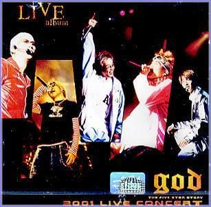 MUSIC PLAZA CD <strong>지오디 god | 2001 Live concert</strong><br/>