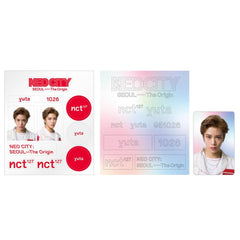 NCT 127 [ NEO CITY : SEOUL- THE ORIGIN ] LIGHT STICK DECO 2 STICKER+1 PHOTO CARD