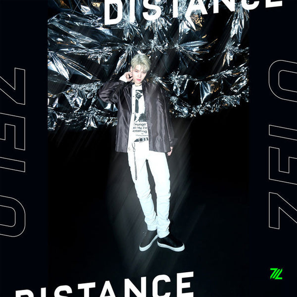 ZELO SOLO ALBUM [ DISTANCE ] REGULAR VER.