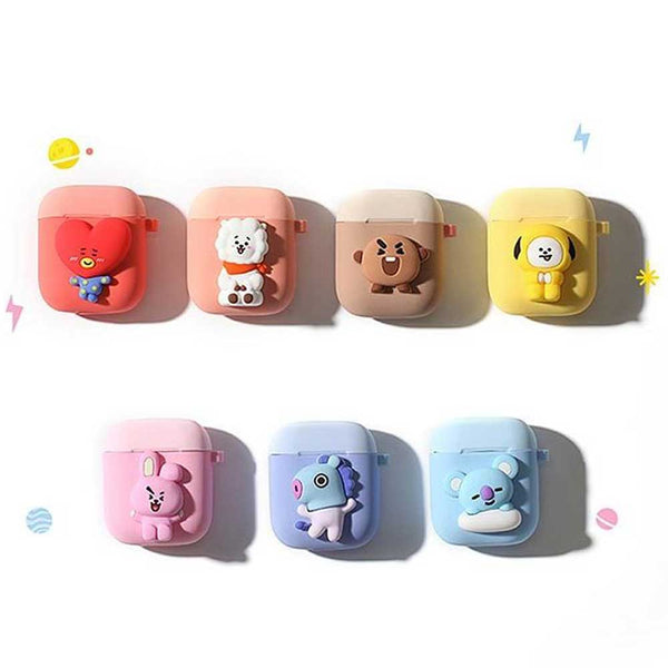 BT21 TWO-TONE AIRPOD CASE | OFFICIAL MD