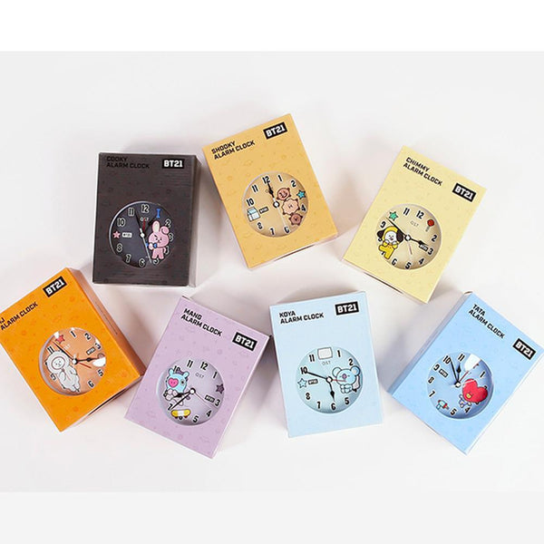 MUSIC PLAZA Goods TATA BT21* OST  ALARM DESK CLOCK | OFFICIAL MD