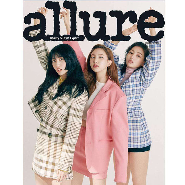MUSIC PLAZA Magazine A TYPE 얼루어 코리아 | ALLURE 2019-5 [ TWICE ] INTERVIEW 20P