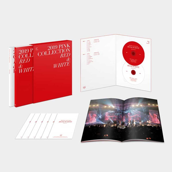 APINK  2019 PINK COLLECTION [RED & WHITE] DVD