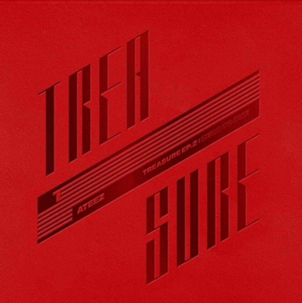 MUSIC PLAZA CD ATEEZ 2ND MINI ALBUM TREASURE EP.2 : ZERO TO ONE