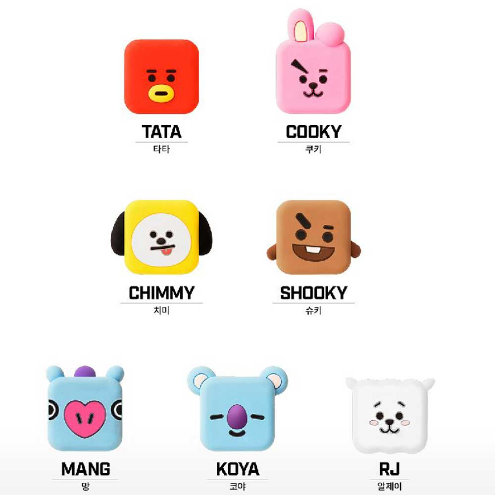 BT21 CUBE CABLE PROTECTION CAP