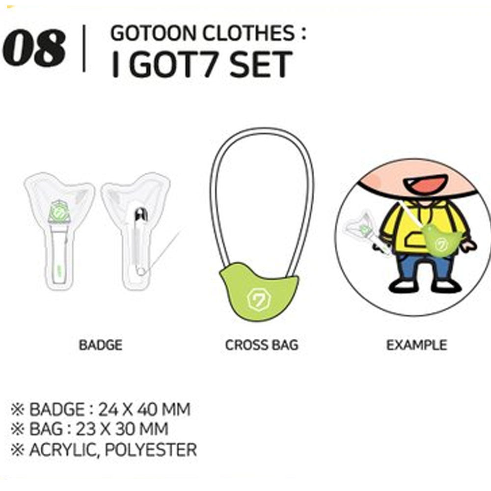 GOT7 [ GOT7 SET ] GOTOON by GOT7 SUMMER STORE
