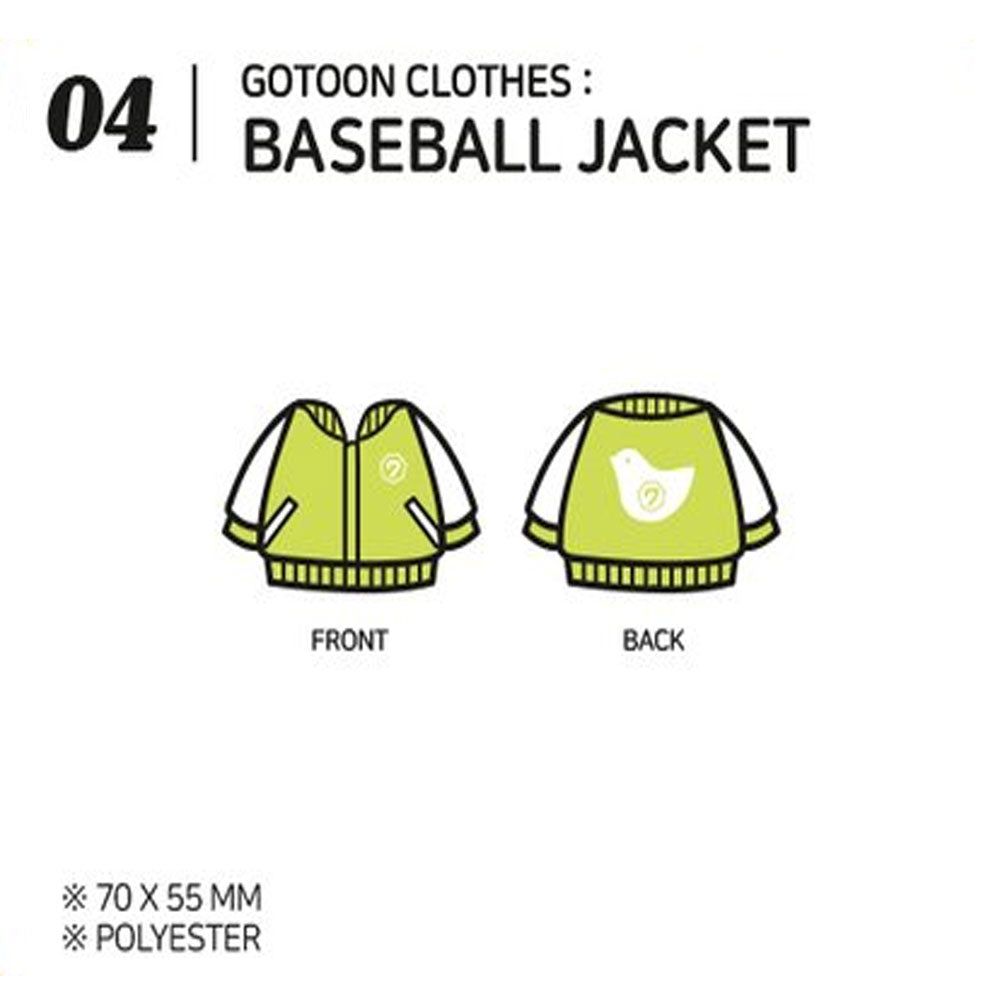GOT7 [ BASEBALL JACKET ] GOTOON by GOT7 SUMMER STORE