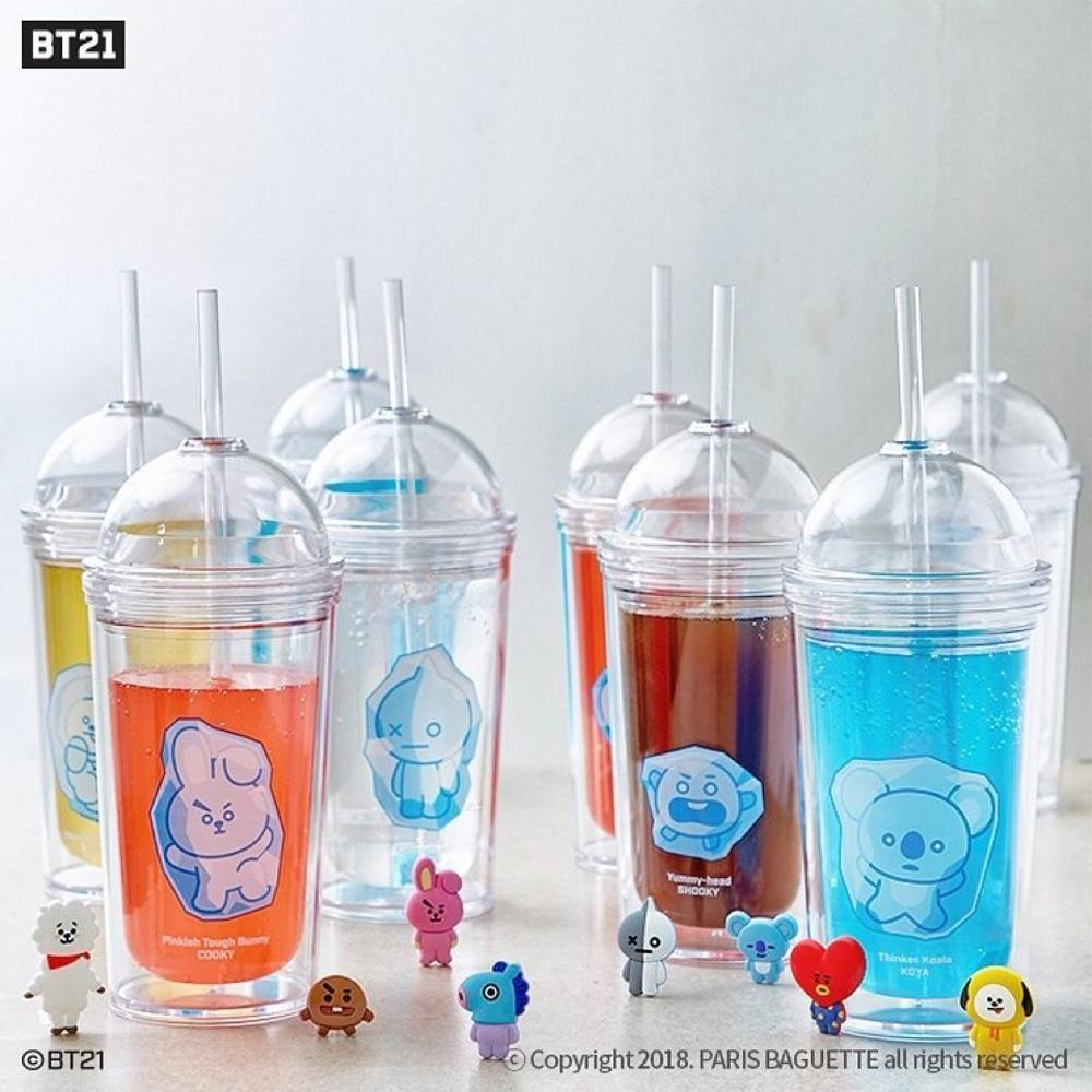 BT21 * BTS Ice Tumbler  - Official Limited Bottles
