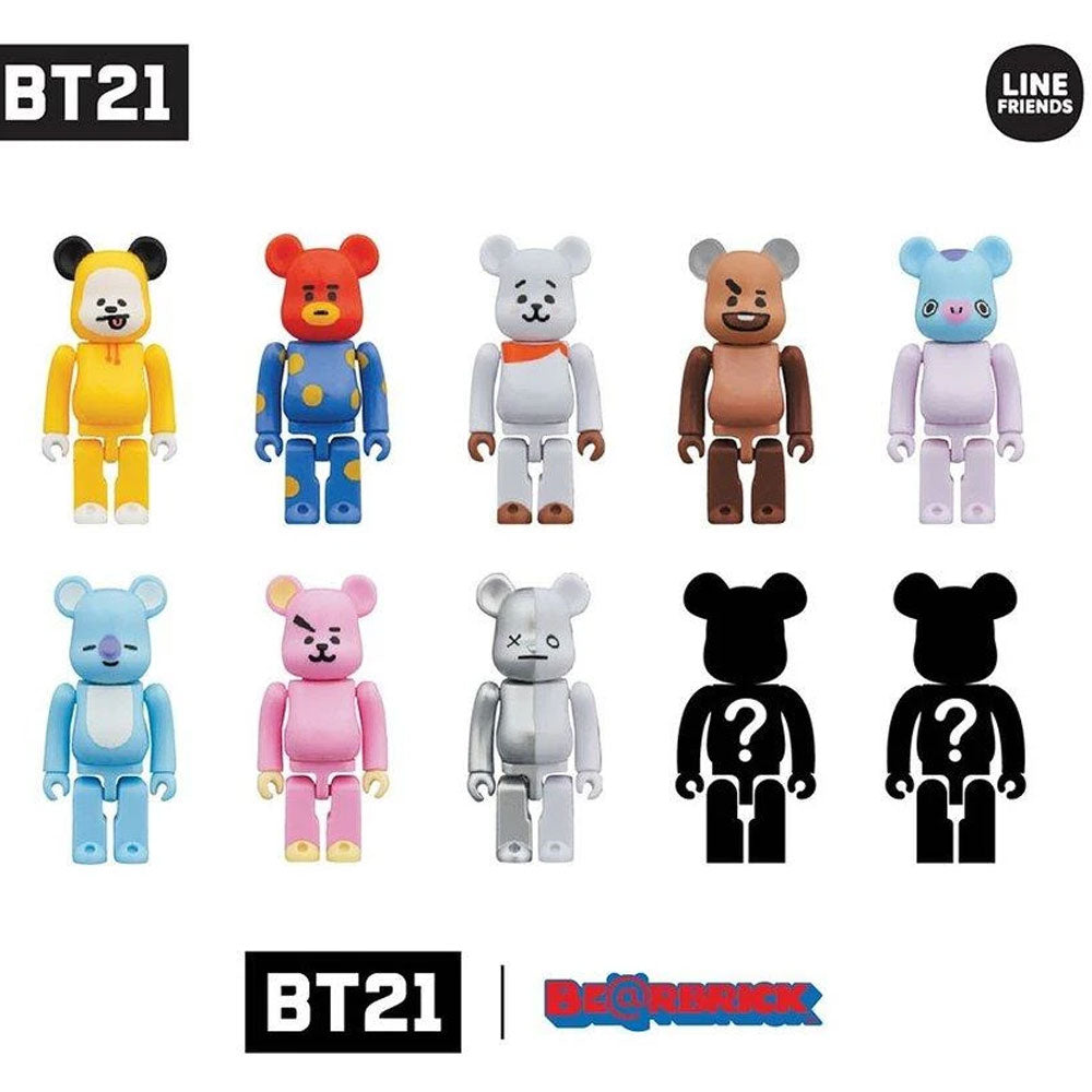 BT21*  BE@RBRICK OFFICIAL MD [ BT21 BEARBRICK ] LIMITED COLLECTION