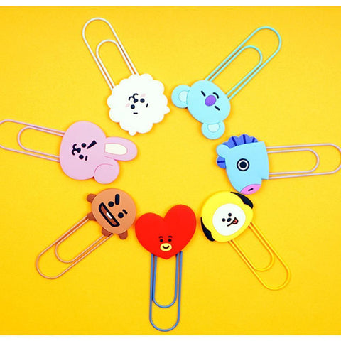 BT21* LINE FRIENDS OFFICIAL GOODS [ BIG CLIP ]
