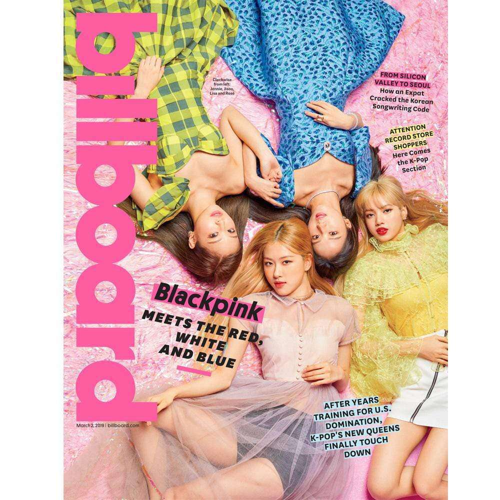 MUSIC PLAZA Magazine 블랙핑크 | BLACK PINK x Billboard Magazine 2019-3