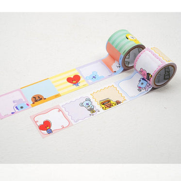 BT21 ROLL STICKER MEMO | OFFICIAL MD