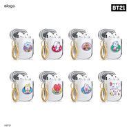 BT21*ELAGO CLEAR AIRPOD CASE | LIMITED EDITION