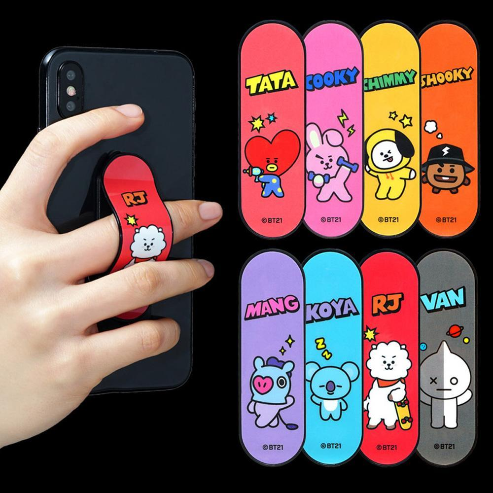 BT21 [ PHONE HOLDER STICK ] OFFICIAL MD