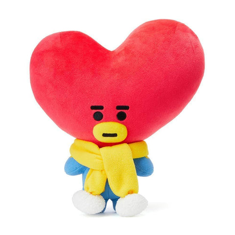 BT21 WINTER STANDING PLUSH DOLL [ TATA] OFFICIAL MD