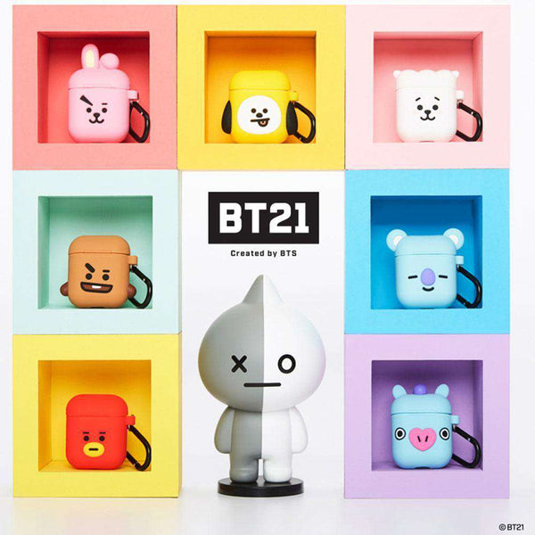 BT21 CUBE SERIES AIR POD CASES | NEW VERSION