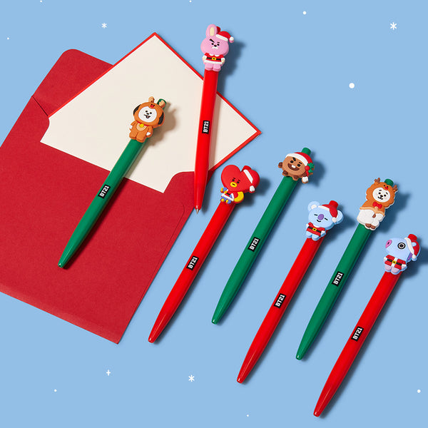 LINEFRIENDS BR21 WINTER GEL PEN