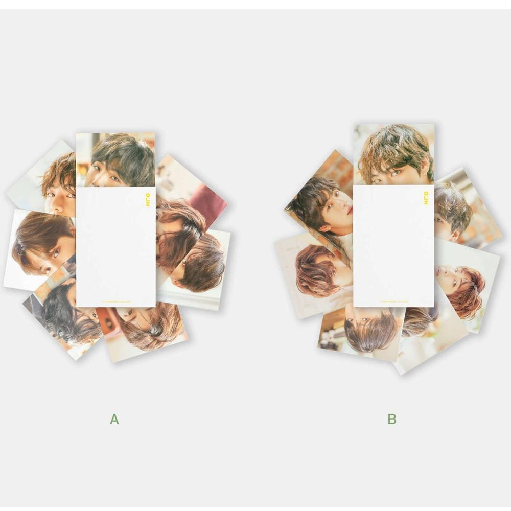 MUSIC PLAZA Goods A TYPE BTS 2018 EXHIBITION [ POSTCARD SET ] OFFICIAL MD