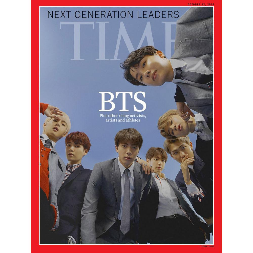 NEXT GENERATION LEADERS BTS [ TIME ] MAGAZINE ASIA EDITION