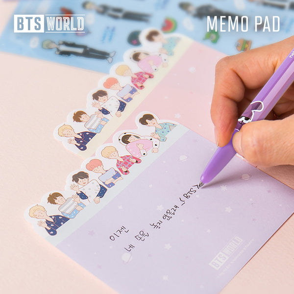 BTS WORLD [ MEMO PAD ]