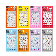 MUSIC PLAZA Goods RJ BT21 x OLIVE YOUNG [ OFFICIAL NAIL STICKER ]
