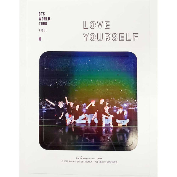 BTS WORLD TOUR [ LOVE YOURSELF ] STICKER SET