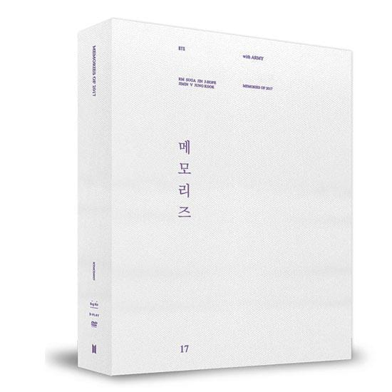 MUSIC PLAZA DVD BTS | 방탄소년단 | 2017 MEMORIES DVD  5DVD+Photobook