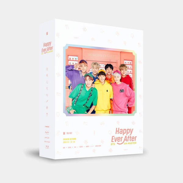 MUSIC PLAZA DVD BTS 4th MUSTER [ Happy Ever After ] BLU-RAY