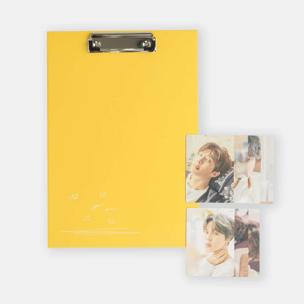BTS 2018 EXHIBITION [ CLIP BOARD + PHOTO CARD SET ]