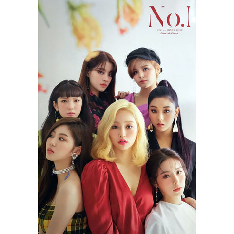 씨엘씨 | CLC | No.1- 8TH MINI ALBUM | POSTER