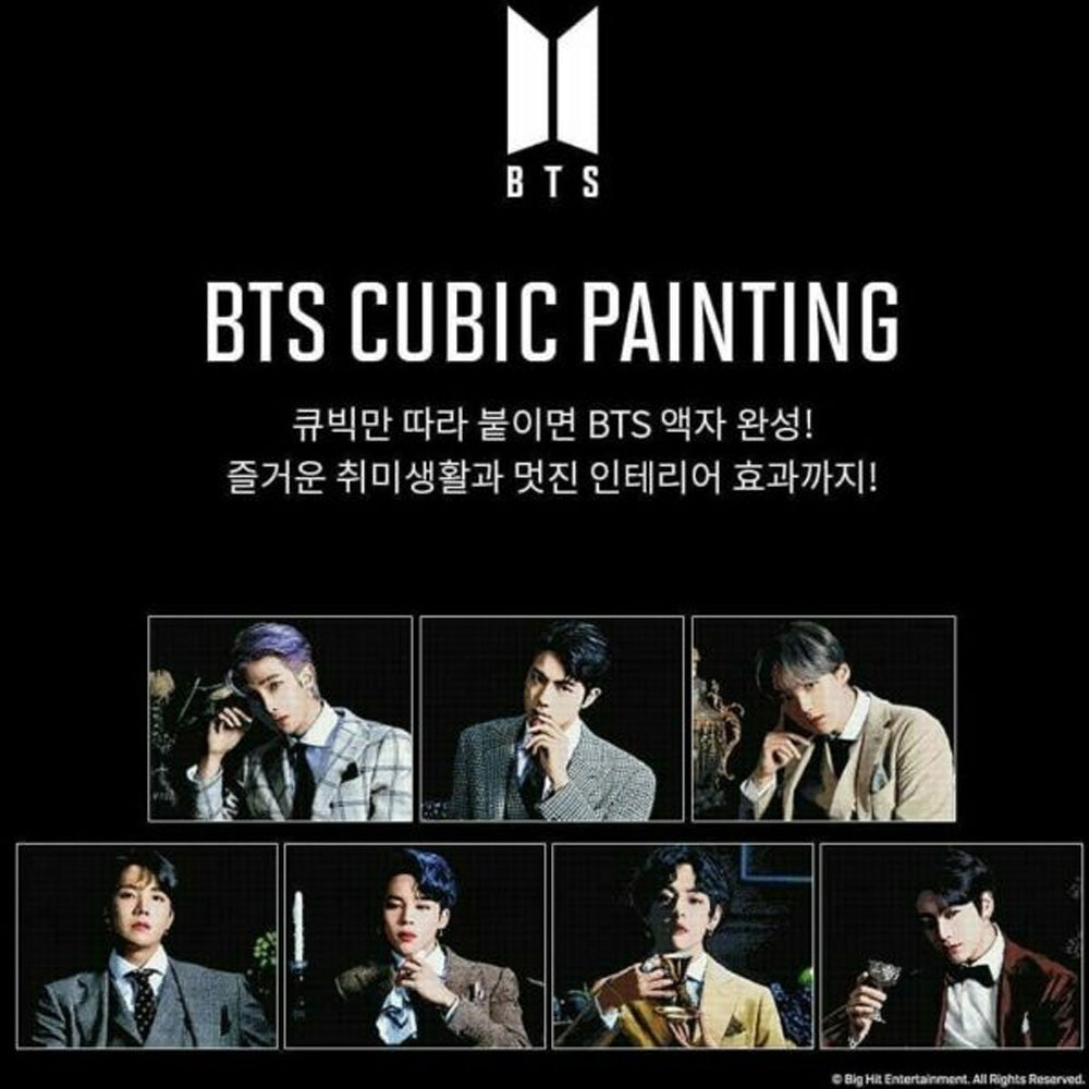BTS DIY CUBIC PAINTING_3 | OFFICIAL MD