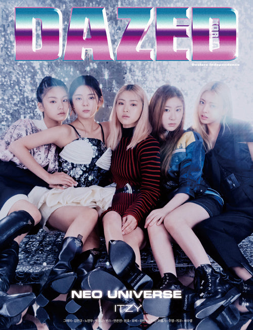 DAZED & CONFUSED KOREA [ 2011-11 ITZY COVER ]