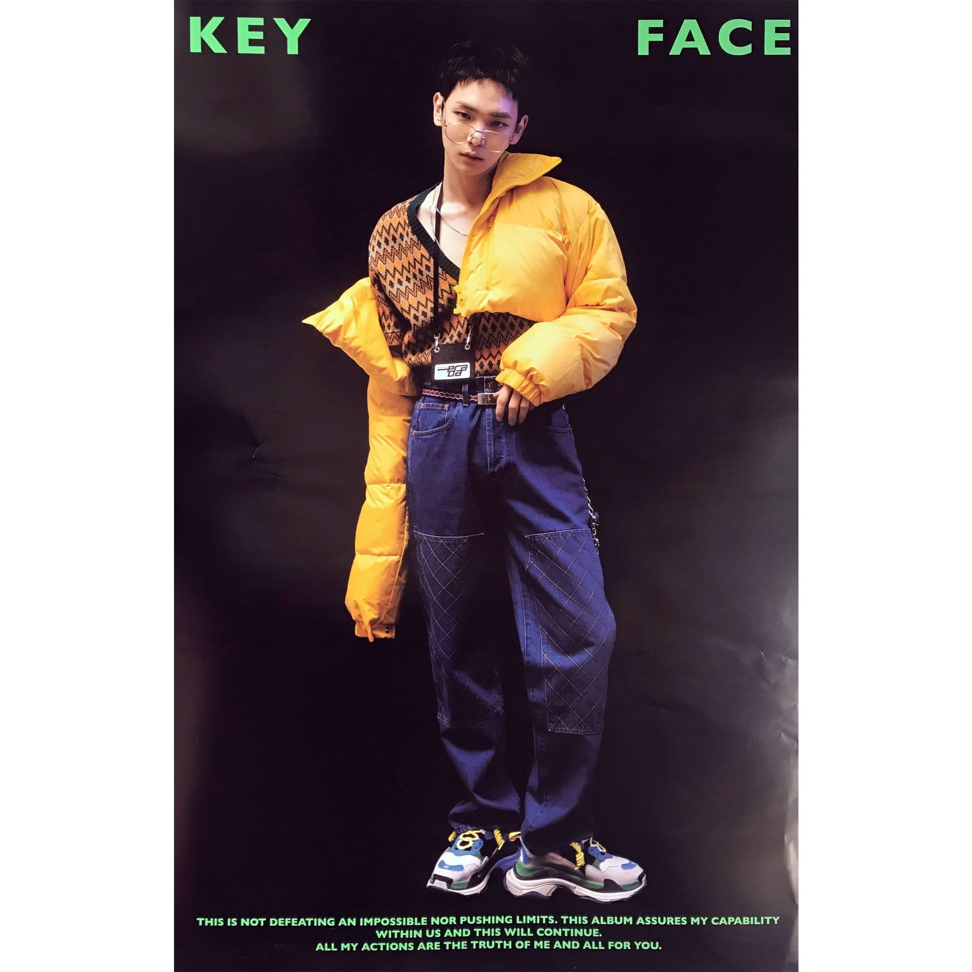 키 | KEY |  1st album | VOL .1 -  [FACE] | POSTER