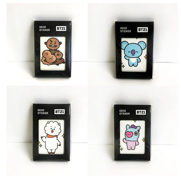 BT21 | Line Friends - MONOPOLY 32 SHEETS  DECO STICKERS